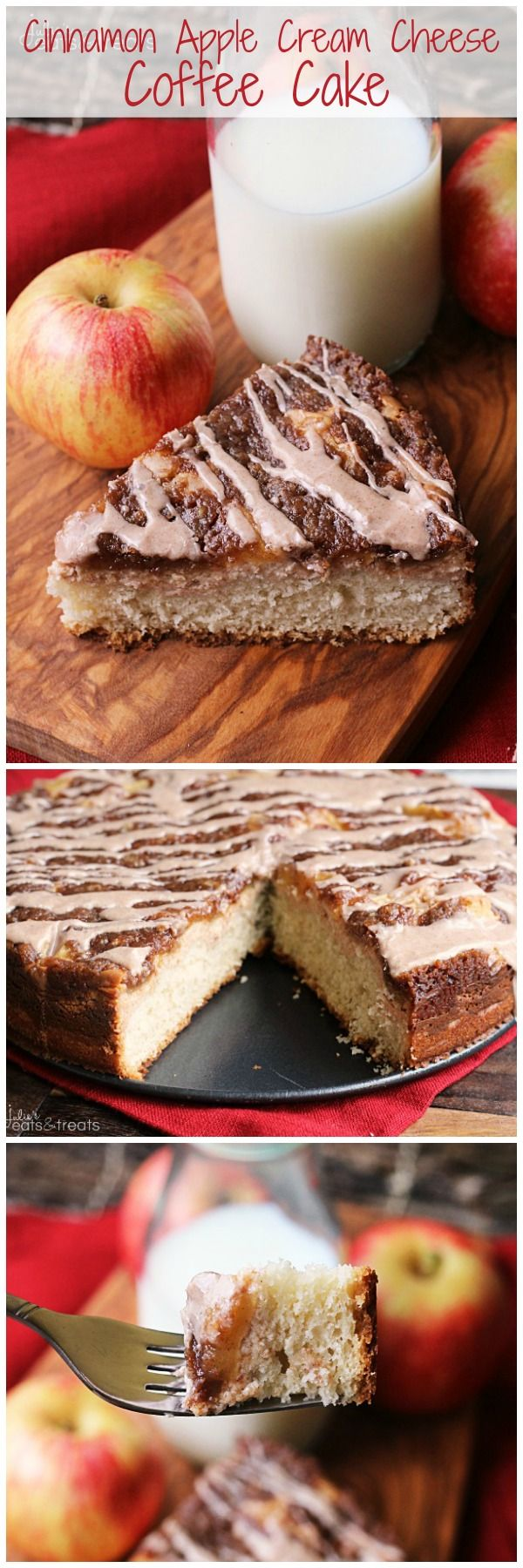 Cinnamon Apple Cream Cheese Coffee Cake | Cream Cheese ...