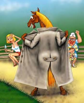 Конь в пальто детский юмор