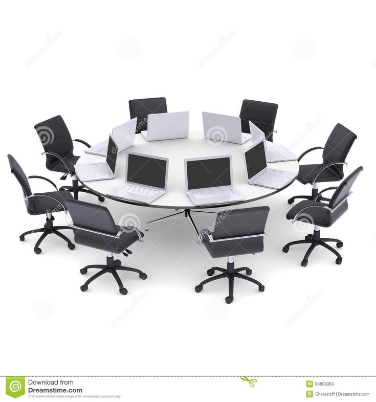 Round Office Table and Chairs - Furniture for Home Office Check more at http://www.drjamesghoodblog.com/round-office-table-and-chairs/
