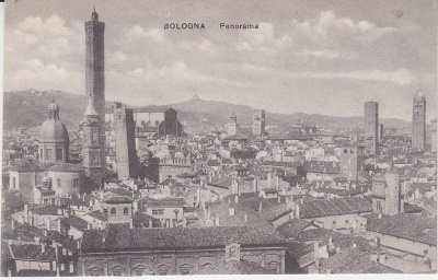 Unknown Italian Publisher Postcard - Bologna - Panorama c1909