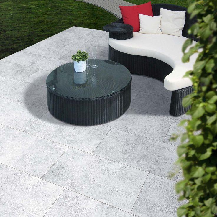 112 best terrassenplatten images on pinterest concrete paving slabs products and ceramic art. Black Bedroom Furniture Sets. Home Design Ideas