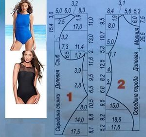 Diy idea how to make tutorial sew swimsuit