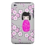 Personalized kokeshi Doll, iPod Touch Barely There Case  http://www.zazzle.com/personalized_kokeshi_doll_ipod_case-179273717030254381