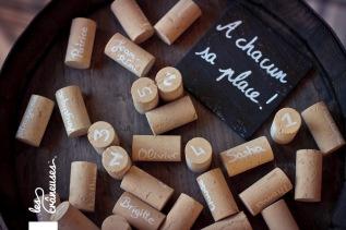 Anniversaire. Vin. Birthday. Wine. Marque places. Escort cards. ©Les crâneuses, event planner & designer.