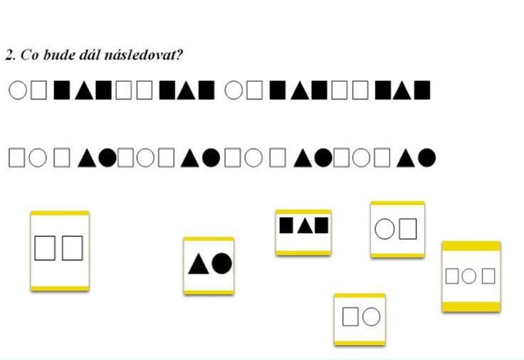 Hrátky s geometrickými tvary – logická řada thumbnail