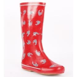Cool WSU rain boots -- may need to pick some up for tailgating season!