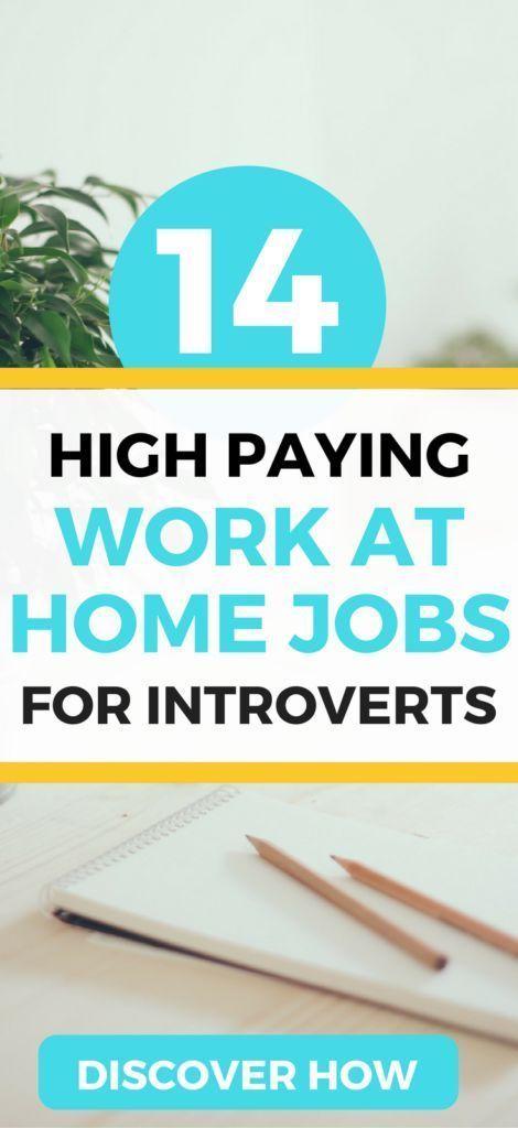 Die 14 BEST Work from Home-Jobs für Introvertiert…