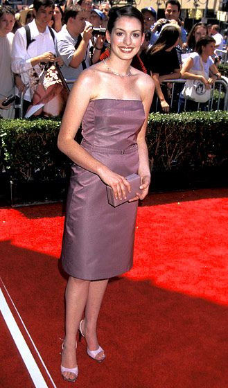 Anne Hathaway's Style Evolution: July 29, 2001
