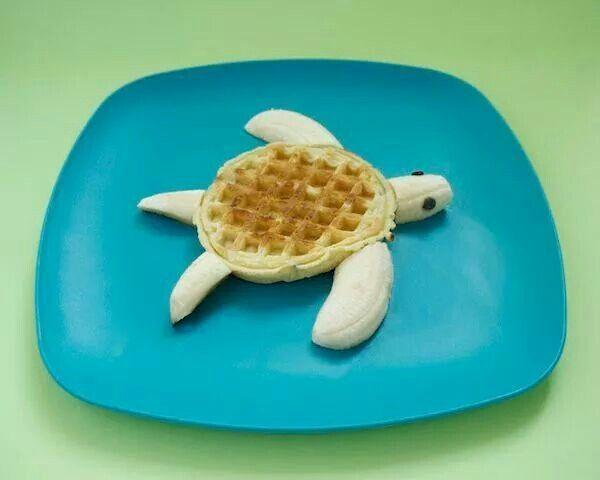Turtle waffle