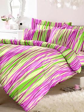 If you are looking for vibrant, bright, and young colours to light up your room, then this double bedsheet set with two pillow covers is what you are looking for. This set is made of 100% cotton of top-quality fabric. The fabric will last you through multiple washes without losing its soft and comforting feel. For a combination of comfort, luxury and quality, our trusted brand is what you need. Our products more than providing your functional needs�they make a statement and define a ...
