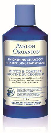 Avalon Organics Biotin B-Complex Thickening Shampoo - For thin hair $13.79 - from Well.ca
