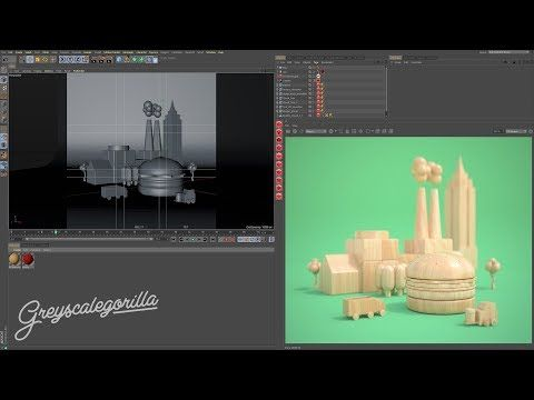 (51) Redshift for Cinema 4D: Redshift Proxies and Random Techniques - YouTube