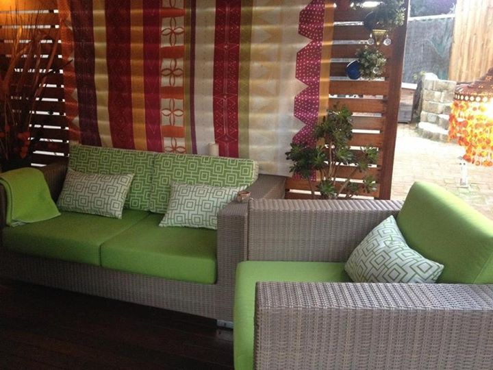 outdoor fabrics and cushions