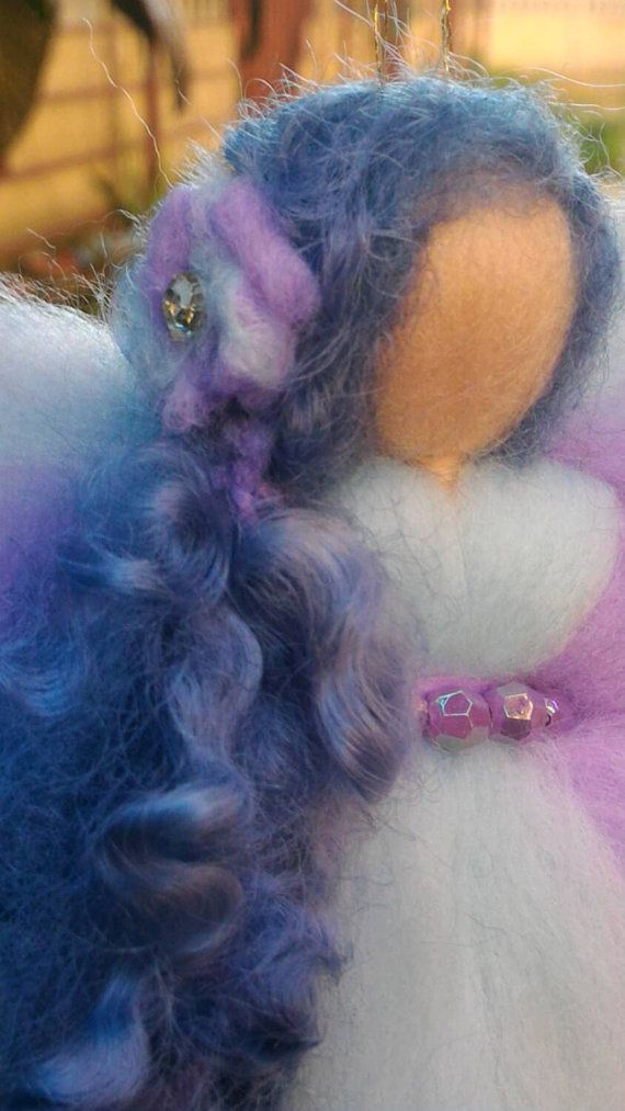 FAIRY tale and curly wool wool FLUFFY CURLY