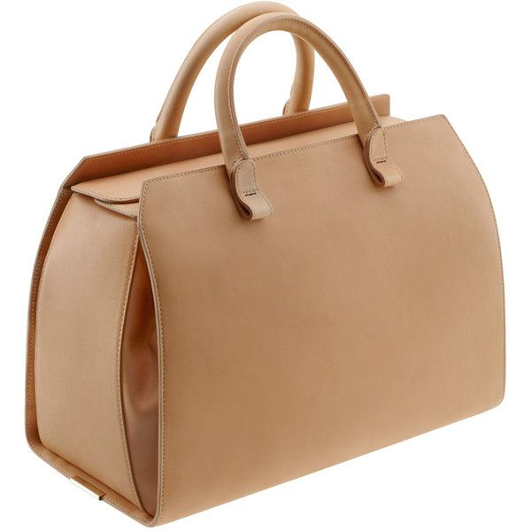 VICTORIA BECKHAM BAGS Victoria Soft Leather Tote ($2,416) found on Polyvore