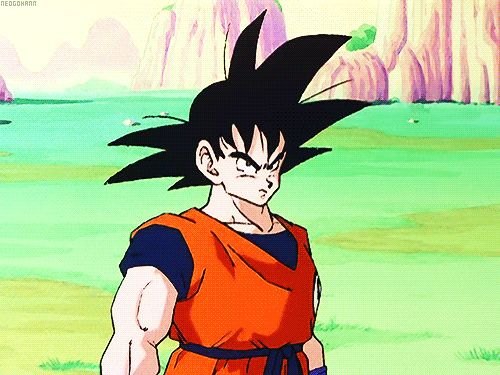Goku vs Nappa