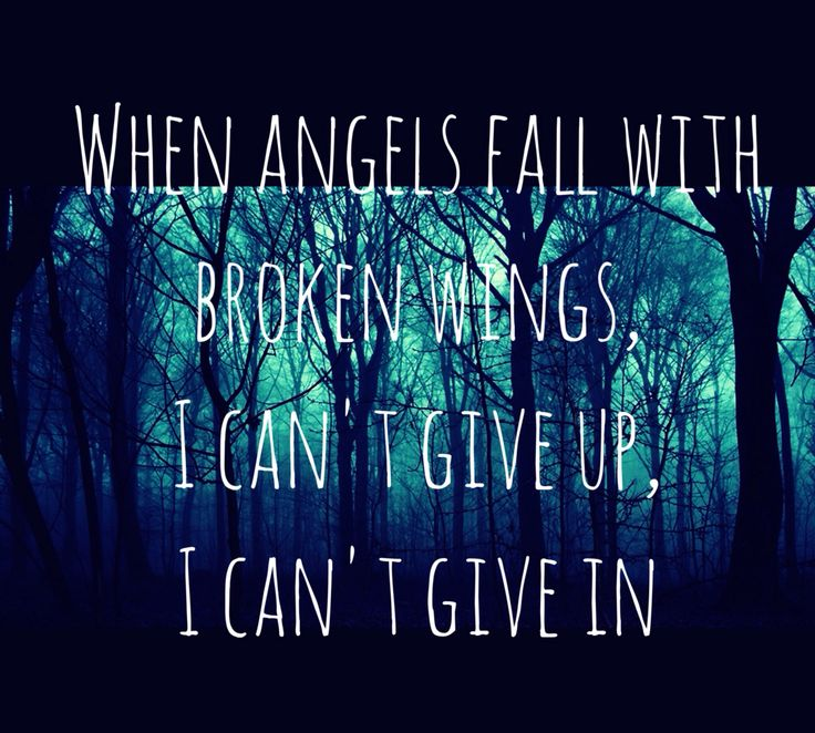 Angels Fall by Breaking Benjamin