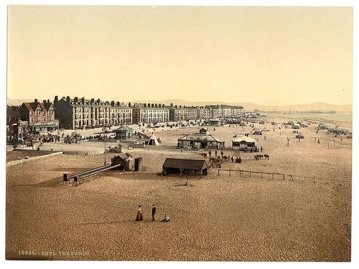Rhyl circa 1890 - 45 fascinating century-old pictures of Wales... and you'll be amazed where we found them - Wales Online
