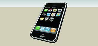 Mijn telefoon op het aanrecht