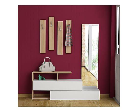 Mobiletto ingresso Ramda - 154x137x35 cm