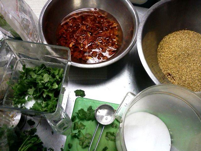 southwestern kale chip recipe -dehydrator