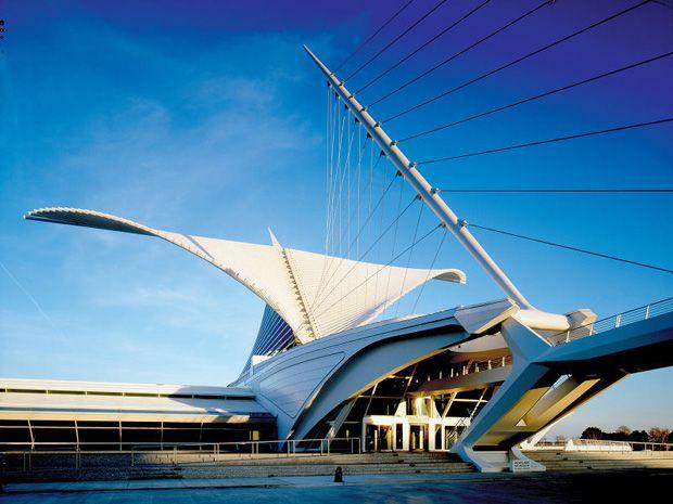 Burke Brise Soleil, Milwaukee Art Museum, Wisconsin, EEUU #Museos