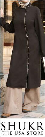 Gamila- long, tailored jacket