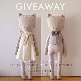 Head over to instagram if you'd likea chance to win a kitty. Giveaway ends Monday 11/24 at 4PM PST. Good luck!