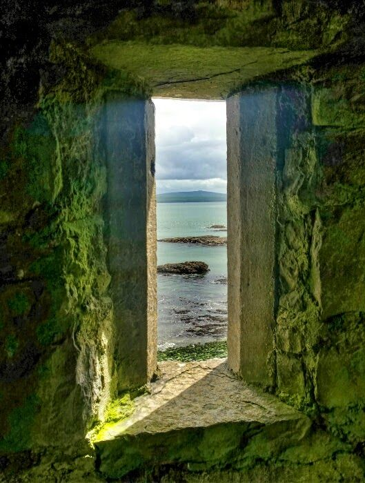 Carrigaholt Castle, Loop head Co Clare, Ireland.  The castle was built in late 1400's by the McMahons: chiefs of the Peninsula who were descendants of the the King of Munster.
