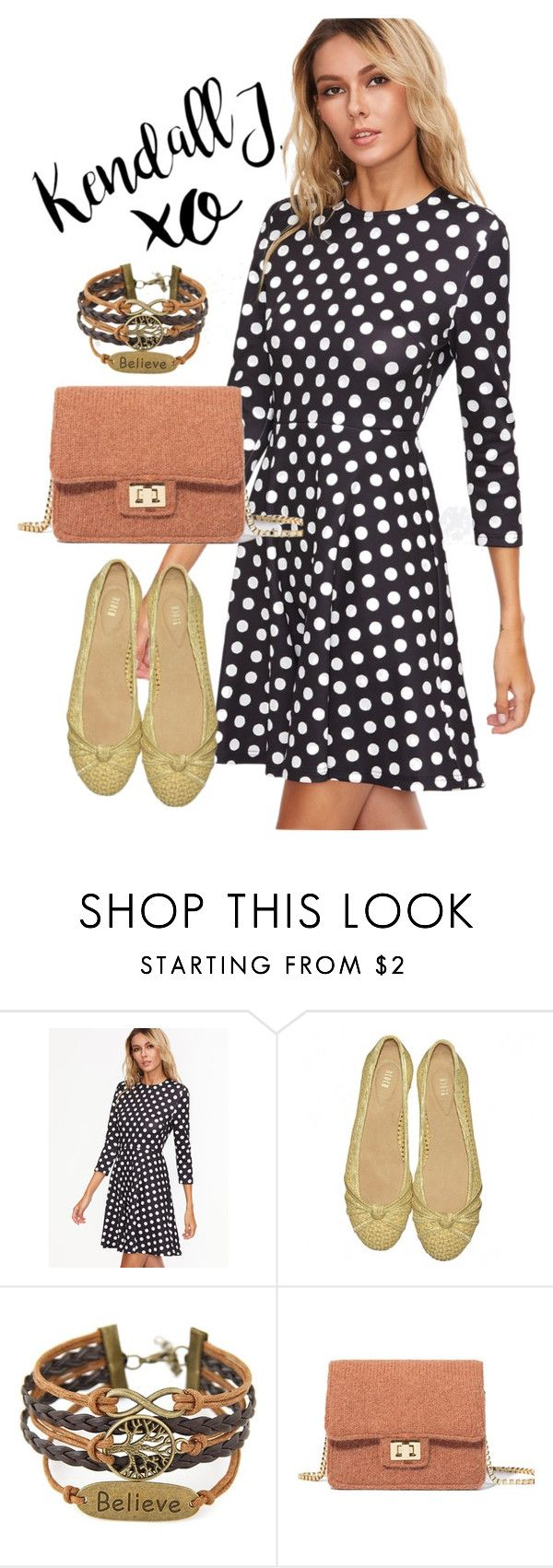 """""""dress"""" by masayuki4499 ❤ liked on Polyvore featuring xO Design and Bloch"""