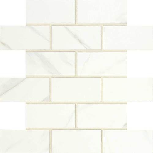 Master Bath Shower Floor Daltile FL06 2x4 brick jointed