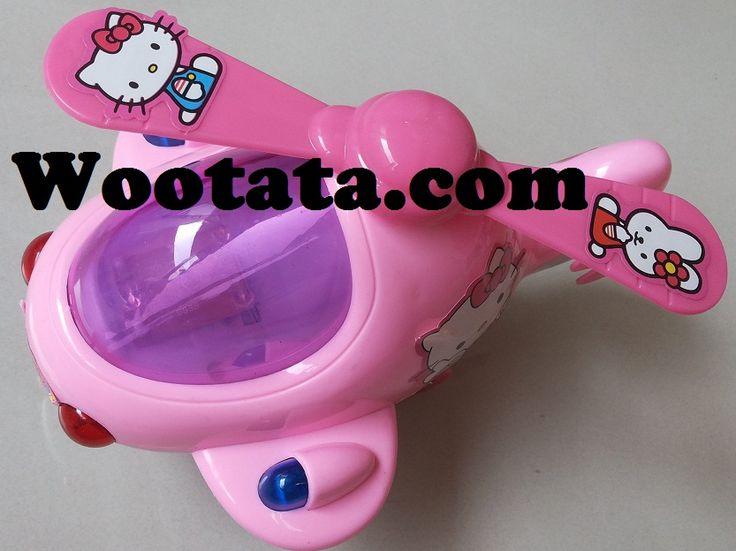 Mainan Helikopter Hello Kitty Murah