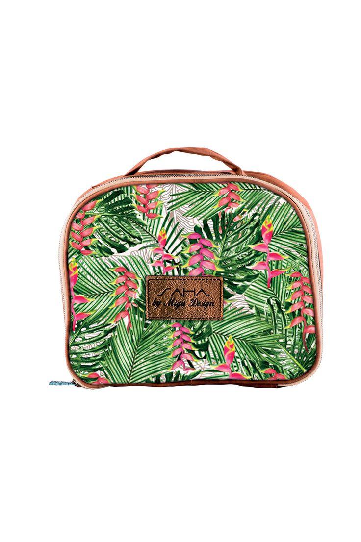 SAHA small plastic lined travel/cosmetics bag Ref. 15CR05 www.sahaswimwear.com