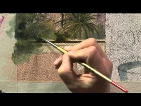RTP Mediterranean Landscapes in Watercolour - Taormina, Sicily Programme Two - Part Two - YouTube