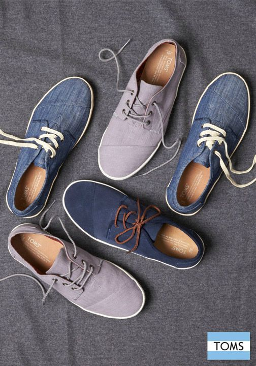 It's hard to find lace-up shoes that are both professional and comfortable—but TOMS gives you both and helps you give back.