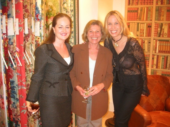 Lori Dennis With ASID Past President Helen Meisel At Interior Design Event