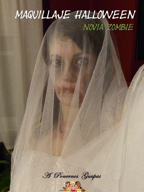 A Ponernos Guapas: Cómo hacer maquillaje de novia zombie para Hallowe...