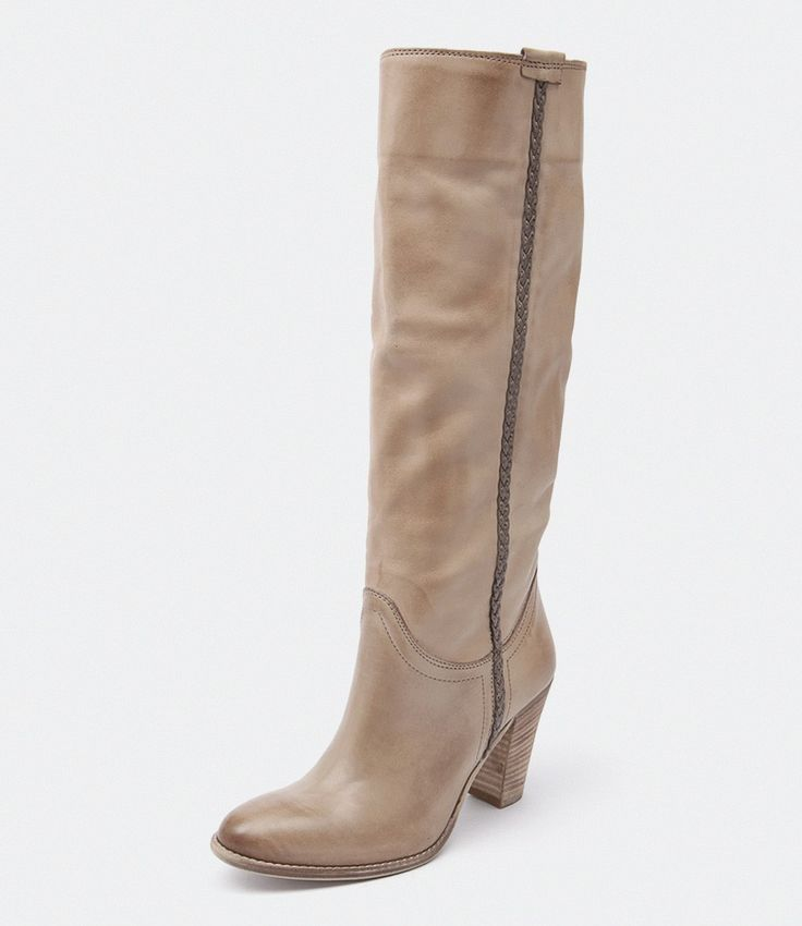 Maria Rossi Messina knee boots in taupe