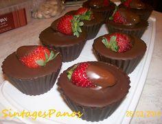 Σοκολατένιες κούπες έκπληξη!!