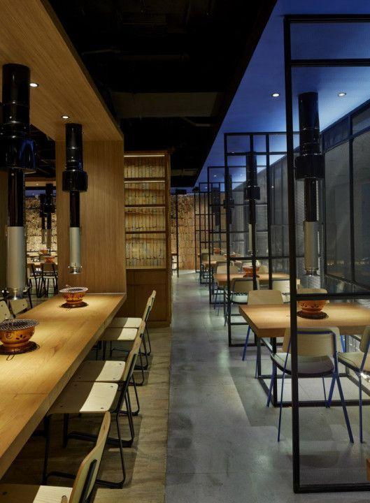 Yakiniku master restaurant by golucci international design for Sideboard 3 00 m