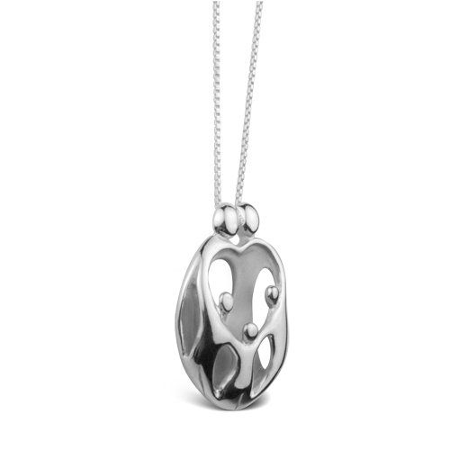 Sterling Silver Loving Family
