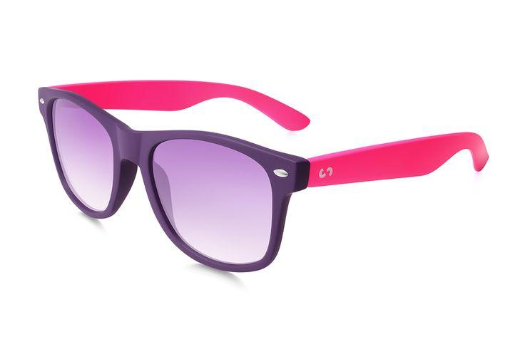 Occhiali da sole polarizzati:  SLANG / PINK di Slash Sunglasses  http://www.slashsunglasses.com/shop/slang/slang-viola-rosa.html