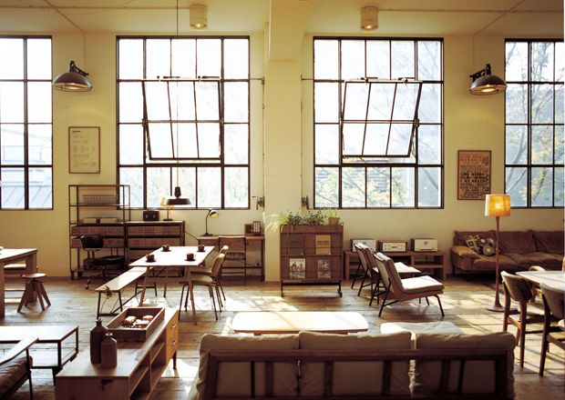 Tokuhiko Kise's beautiful shop, workshop, cafe, and home in Osaka's Asahi Ward. Another reminder that the propensity dream and the steady work to make it happen can make fantasy a reality. via. OEN