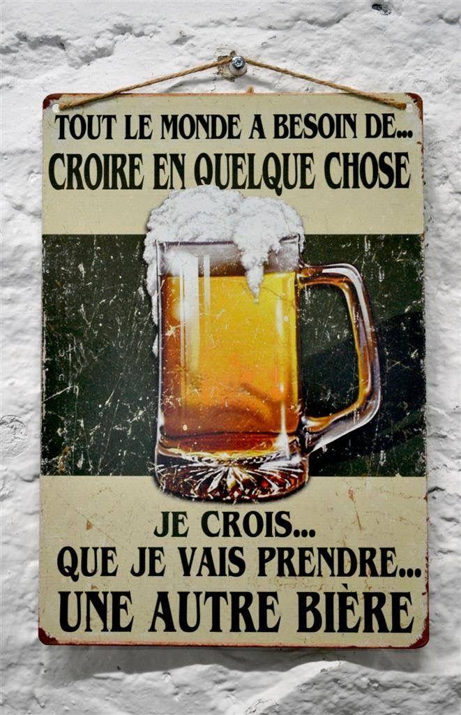 Les croyances ont du bon parfois ! #biere #beer #humour