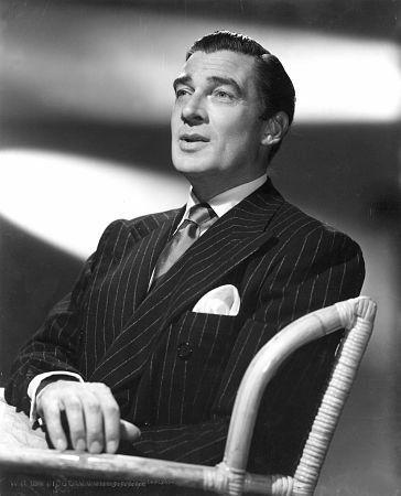 Walter Pidgeon, 1936.