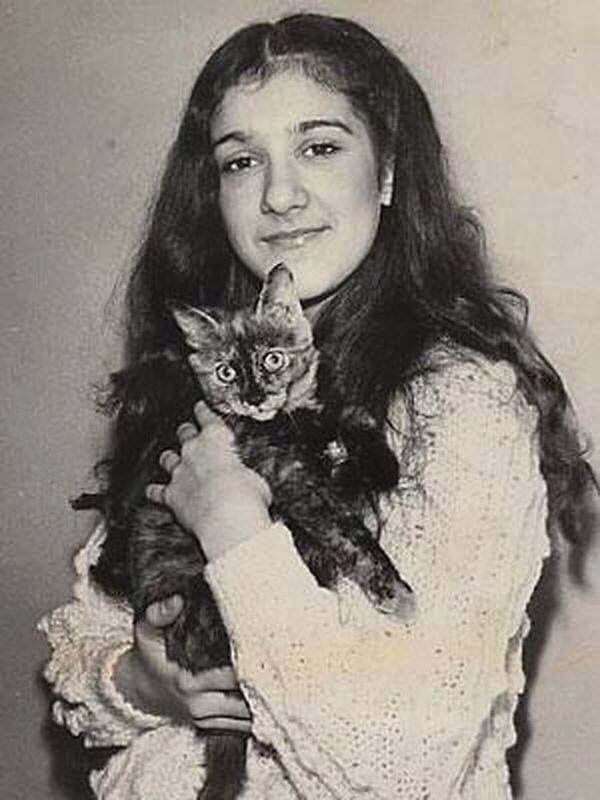 A young Celine Dion.