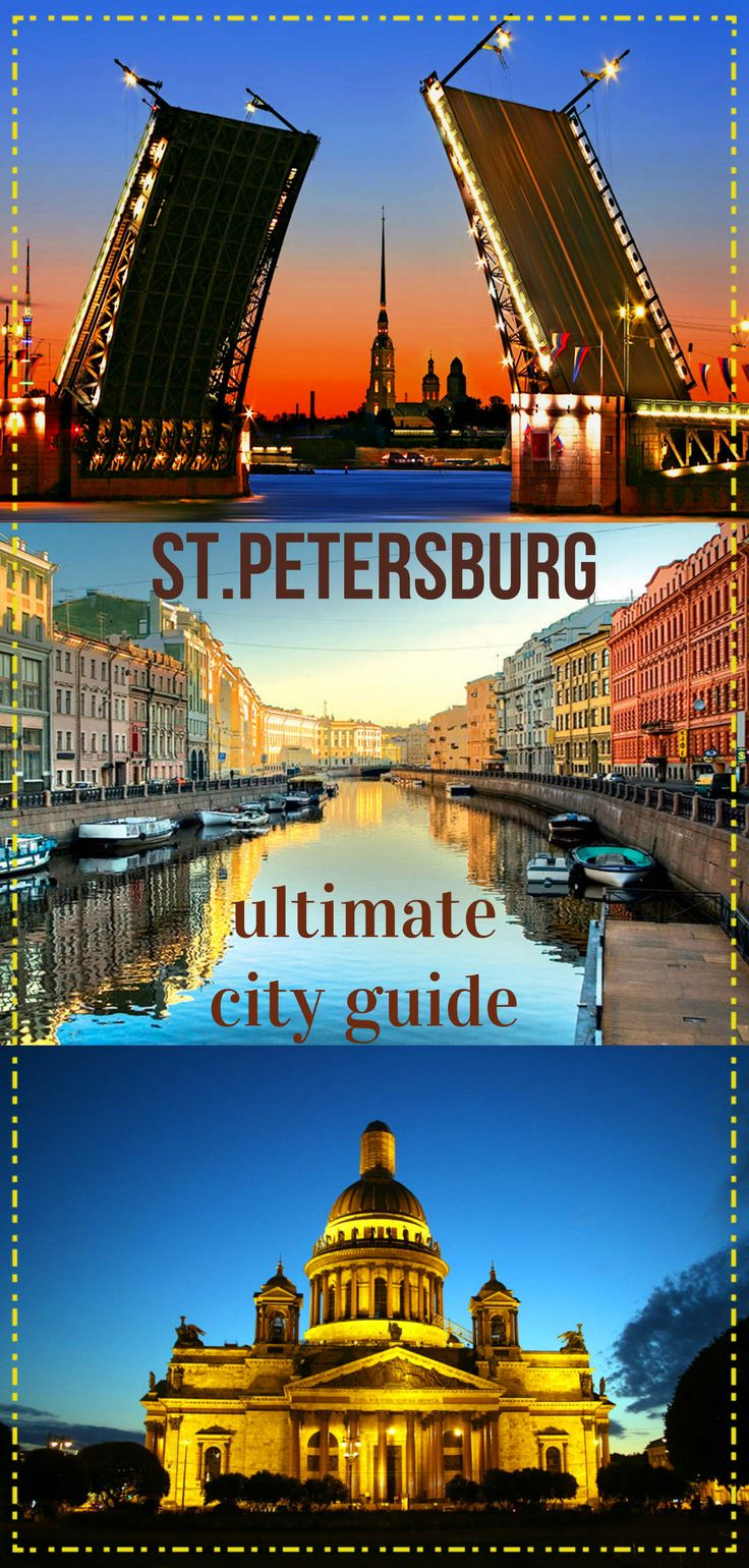 Complete guide to St.Petersburg, Russia. City map, Top places to see, off the beaten track, walking route, metro map, 3 day itinerary, best food places, different budget options, things to know, weather, White nights, tips. Ultimate city guide written by locals for tourists.