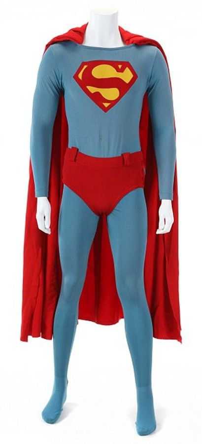 A Christopher Reeve-worn Superman costume is to auction as part of Julien's Hollywood Legends sale, which is to take place over two days in Beverly Hills (April 5-6). Estimated to be worth $32,000, the costume is brand new to the market, having remained in a private British collection for 26 years.