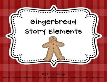 Use this printable to compare popular versions of The Gingerbread Man!...