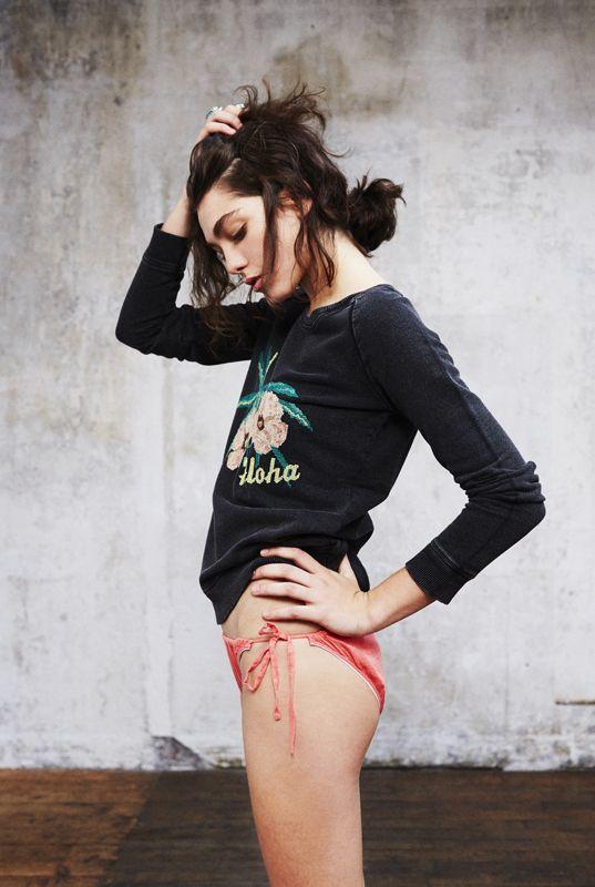 TULIP ALOHA SWEAT // URSULA PANTIES // Leon  Harper Spring Summer 2014  |Sólo en www.nonchalante.es |